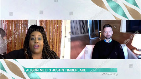 Alison Hammond and Justin Timberlake