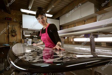 Editorial image of Spain's first female shaper, Los Angeles De San Rafael - 29 Jan 2021