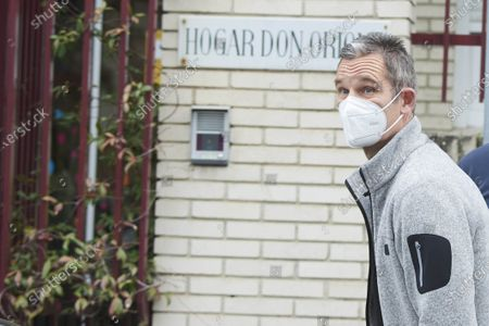 Editorial image of Inaki Urdangarin pictured after being vaccinated against coronavirus, Alarcon, Madrid, Spain - 28 Jan 2021