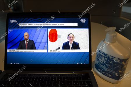 Editorial photo of Wortld Economic Forum (WEF) Davos Agenda, Cologny, Switzerland - 29 Jan 2021