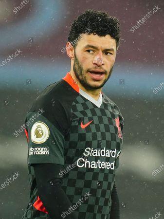 Alex Oxlade-Chamberlain of Liverpool