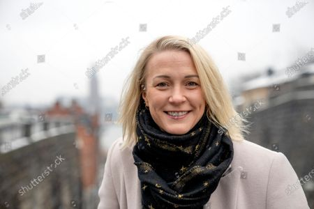 Swedish swimmer and multiple World Record Holder Sarah Sjostrom