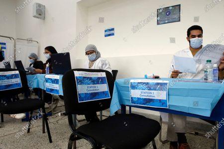 Editorial photo of Virus Outbreak Vaccination, Casablanca, Morocco - 29 Jan 2021