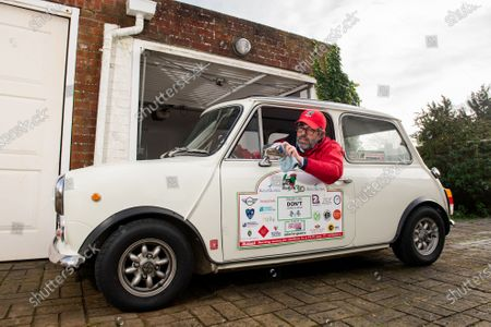 Editorial image of 'The Italian Job' road trip event, Hove, East Sussex - 28 Jan 2021