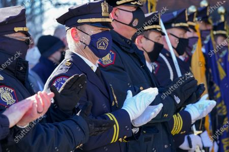 Editorial picture of Retiring Police Chief, Jersey City, United States - 29 Jan 2021