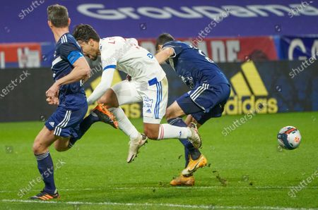 Editorial photo of Soccer League One, Lyon, France - 29 Jan 2021