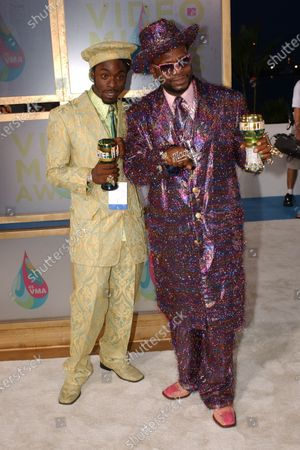 Stock Picture of Bishop Don Juan arrives to the MTV Video Music Awards