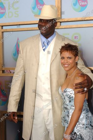 Shaunie O'Neal andShaquille O'Neal arrive to the MTV Video Music Awards