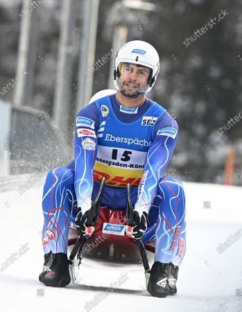 Editorial image of Luge World Championships in Koenigssee, Germany - 30 Jan 2021