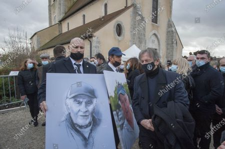 Editorial image of Funeral of Remy Julienne, Cepoy, France - 29 Jan 2021
