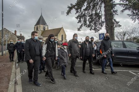 Editorial photo of Funeral of Remy Julienne, Cepoy, France - 29 Jan 2021