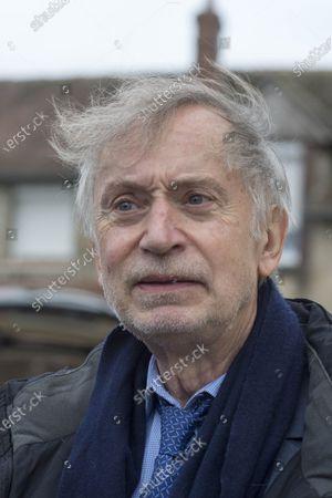 Cepoy Obseques du cascadeur Remy Julienne a Cepoy mort le 21 janvier des suites du Covid-19 a l age de 90 ans. Michel Godest, avocat de Jean-Paul Belmondo er de Remy Julienne.