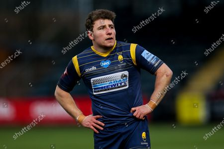Duncan Weir of Worcester Warriors makes his 50th appearance for the club