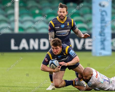 Editorial image of Worcester Warriors v Exeter Chiefs, UK - 30 Jan 2021