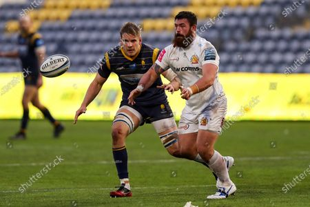 Editorial photo of Worcester Warriors v Exeter Chiefs, UK - 30 Jan 2021