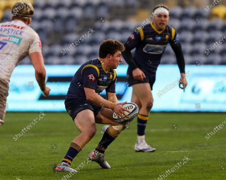 Editorial picture of Worcester Warriors v Exeter Chiefs, UK - 30 Jan 2021