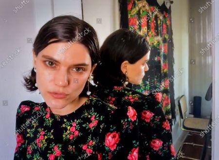 Editorial photo of Exclusive - Shutterstock Virtual Sundance Portrait Studio, Day 6, USA - 30 Jan 2021