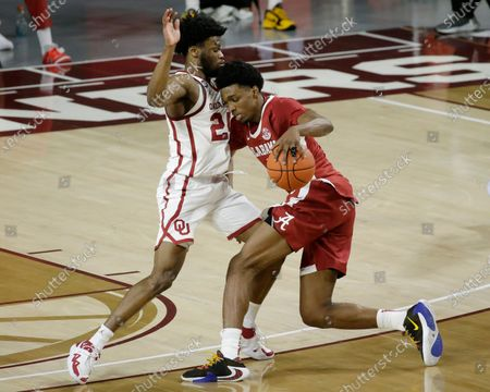 Editorial picture of Alabama Oklahoma Basketball, Norman, United States - 30 Jan 2021