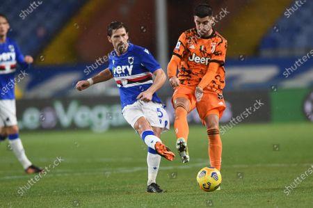 Adrien Silva (Sampdoria), Alvaro Morata (Juventus)