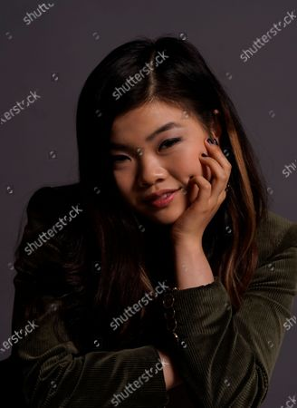 """Miya Cech poses for a portrait to promote the film """"Marvelous and the Black Hole"""" for the Sundance Film Festival, in Davis, Calif"""