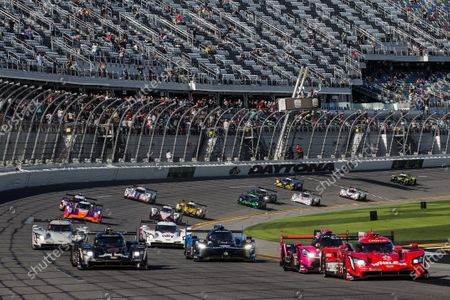 Editorial image of 2021 Daytona 24, Daytona International Speedway, United States of America - 30 Jan 2021