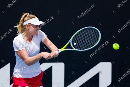 Editorial image of Tennis Gippsland Trophy WTA500, Melbourne, USA - 31 Jan 2021