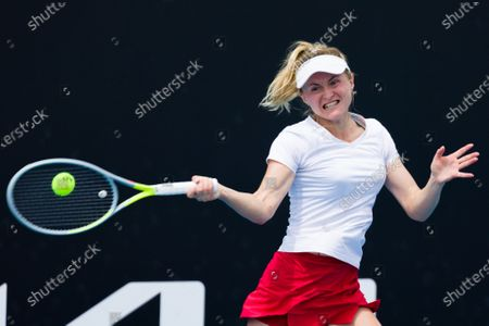 Editorial picture of Tennis Gippsland Trophy WTA500, Melbourne, USA - 31 Jan 2021