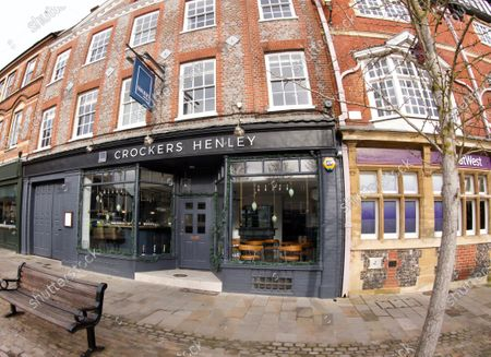 Editorial picture of Grade II Crockers Hotel owned by Luke Garnsworthy, Henley on Thames, Oxfordshire, UK - 31 Jan 2021