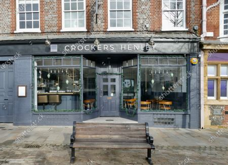 Editorial photo of Grade II Crockers Hotel owned by Luke Garnsworthy, Henley on Thames, Oxfordshire, UK - 31 Jan 2021