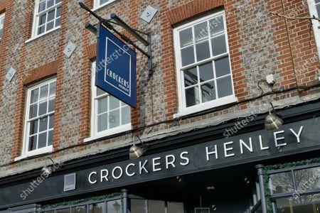 Editorial image of Grade II Crockers Hotel owned by Luke Garnsworthy, Henley on Thames, Oxfordshire, UK - 31 Jan 2021