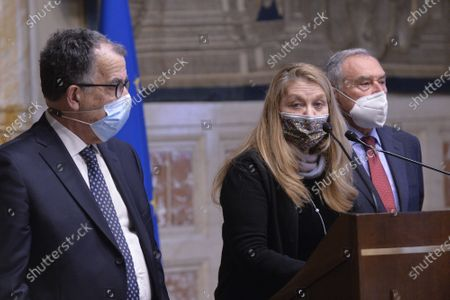 Editorial photo of Consultations in the Chamber of Deputies, Rome, Italy - 31 Jan 2021