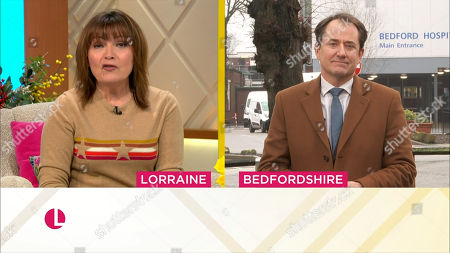 Lorraine Kelly and Richard Gaisford