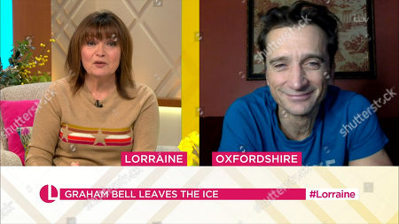 Lorraine Kelly and Graham Bell