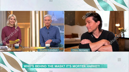 Editorial image of 'This Morning' TV Show, London, UK - 01 Feb 2021