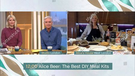 Holly Willoughby, Phillip Schofield and Alice Beer