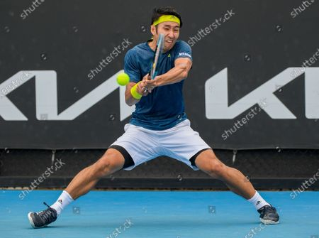 Editorial photo of Tennis Open, Melbourne, Australia - 01 Feb 2021