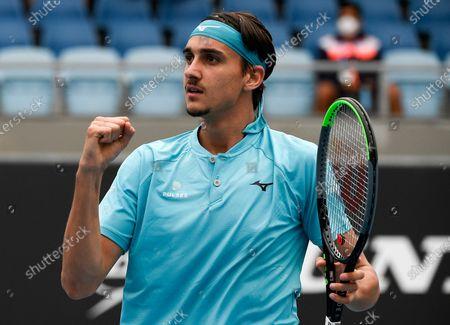 Editorial picture of Tennis Open, Melbourne, Australia - 01 Feb 2021