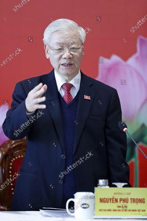 Editorial photo of Communist Party, Hanoi, Vietnam - 01 Feb 2021