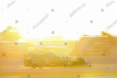 DAYTONA INTERNATIONAL SPEEDWAY, UNITED STATES OF AMERICA - JANUARY 31: #60 Meyer Shank Racing w/Curb-Agajanian Acura DPi, DPi: Dane Cameron, Olivier Pla, Juan Pablo Montoya, AJ Allmendinger during the Daytona 24 at Daytona International Speedway on January 31, 2021 in Daytona International Speedway, United States of America. (Photo by Jake Galstad / LAT Images)