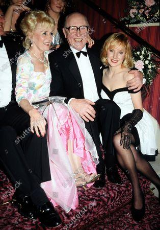 Lynne Perrie, Bill Waddington and Sally Dynevor (nee Whittaker) c.1992