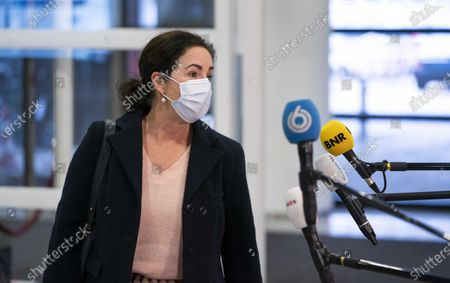 Mayor Femke Halsema of Amsterdam arrives for the Security Council in Utrecht, Netherlands, 01 February 2021. The mayors of the 25 security regions talk about the enforcement of the corona decisions of the outgoing cabinet, including the introduction of the curfew. Due to the curfew, the council met earlier in the day than usual.