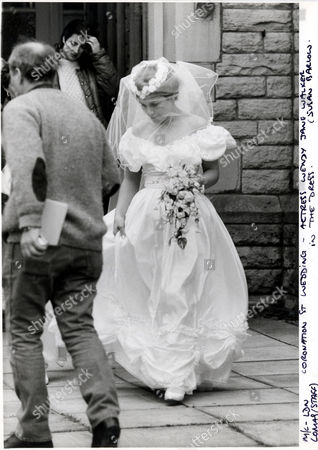 Television Programme Coronation Street Picture Shows Wendy Jane Walker As Susan Barlow On Her Day Of Her Wedding To Mike Baldwin. . Rexmailpix.