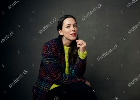 Editorial picture of Film - Rebecca Hall, Park City, United States - 24 Jan 2020