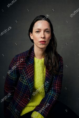 "Stock Photo of Rebecca Hall appears at a portrait session during the Sundance Film Festival in Park City, Utah on . Hall directed her first film, ""Passing,"" starring Ruth Negga and Tessa Thompson, which premiered this weekend at the Sundance Film Festival to wide acclaim"