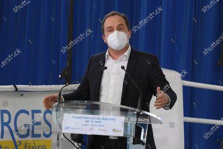 Stock Photo of Deputy Jean-Christophe Lagarde (UDI)