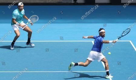 Editorial photo of Tennis, Melbourne, Australia - 02 Feb 2021