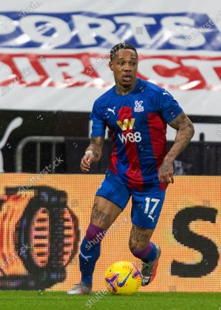 Nathaniel Clyne of Crystal Palace; St James Park, Newcastle, Tyne and Wear, England; English Premier League Football, Newcastle United versus Crystal Palace.