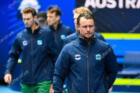 Editorial photo of ATP Cup in Melbourne, Australia - 02 Feb 2021