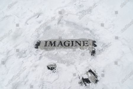 Editorial image of Major snow storm hit New York City, United States - 01 Feb 2021