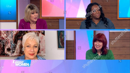 Ruth Langsford, Judi Love, Denise Welch and Janet Street-Porter